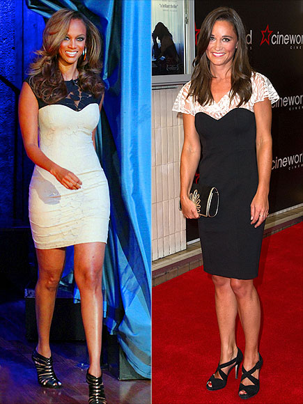 SWEETHEART SHEATHS photo | Pippa Middleton, Tyra Banks