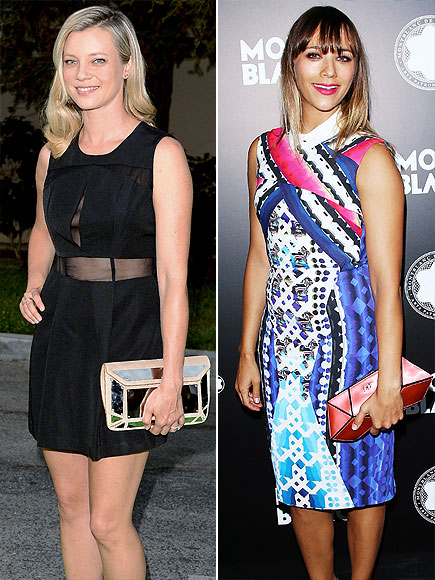 GEOMETRIC CLUTCHES photo | Amy Smart, Rashida Jones
