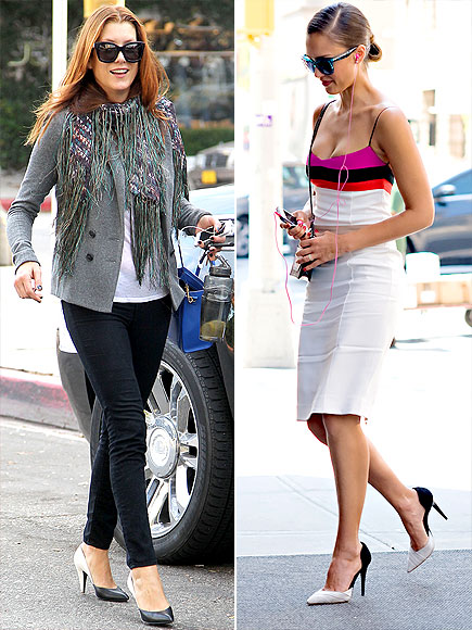 TWO-TONE PUMPS photo | Jessica Alba, Kate Walsh