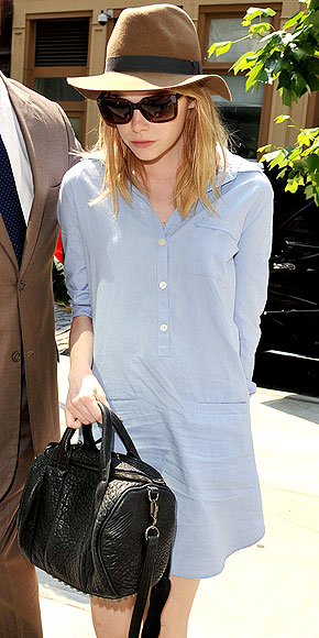 LACOSTE DRESS photo | Emma Stone