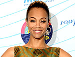 Zoe Saldana's Red Carpet Domination Continues
