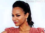 Zo&#235; Saldana is a Grecian Goddess! | Zoe Saldana