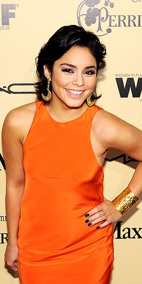 VANESSA HUDGENS'S EARRINGS & CUFF photo | Vanessa Hudgens
