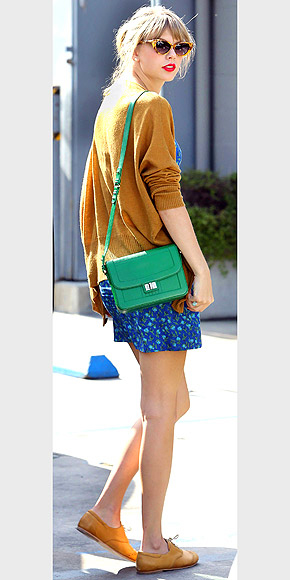 TAYLOR SWIFT&#39;S MINI BAG photo | Taylor Swift