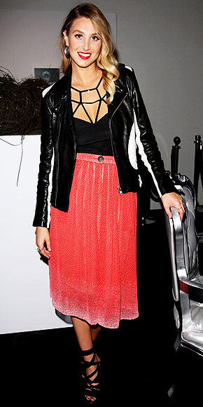 WHITNEY PORT'S SKIRT photo | Whitney Port