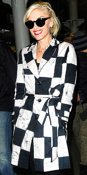 GWEN STEFANI'S COAT photo | Gwen Stefani