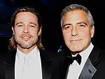 George Clooney and Brad Pitt Rule the Critics&#39; Choice Red Carpet