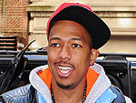 Off-Duty Hollywood: Nick Cannon Gives the Thumbs Up