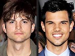 Ashton Kutcher and Taylor Lautner Celebrate Birthdays | Ashton Kutcher, Taylor Lautner