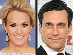 Best Birthday Wishes to Carrie Underwood and Jon Hamm | Carrie Underwood, Jon Hamm
