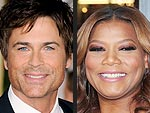 Rob Lowe and Queen Latifah Celebrate Birthdays | Queen Latifah, Rob Lowe