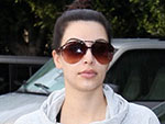 Off-Duty Hollywood: Kim Kardashian Gets a Workout