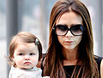 Off-Duty Hollywood: Victoria Beckham Takes Harper Shopping in Beijing