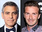 George Clooney and David Beckham Celebrate Birthdays! | David Beckham, George Clooney