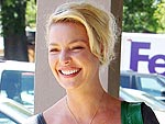 Katherine Heigl Shops for Sewing Supplies | Katherine Heigl