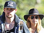 Nicole Richie and Joel Madden Head to the Zoo