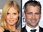 Happy Birthday Heidi Klum and Colin Farrell | Colin Farrell, Heidi Klum