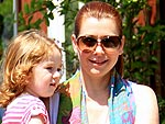 Alyson Hannigan Takes Her Clan to the Country Mart