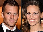 Tom Brady and Hilary Swank Celebrate This Week