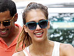 Jessica Alba Takes a Family Trip to the Central Park Zoo | Jessica Alba