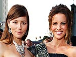 Jessica Biel & Kate Beckinsale Show Off Their Total Recall Premiere Style