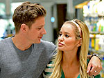 Emily Maynard & Jef Holm's PDA at the Grocery Store