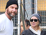 Naomi Watts & Live Schreiber&#39;s Family Soccer Game