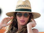 Gisele Bundchen and Her Baby Bump Bask in the Sun