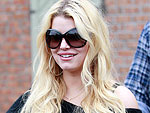 Jessica Simpson Covers Up in Calabasas