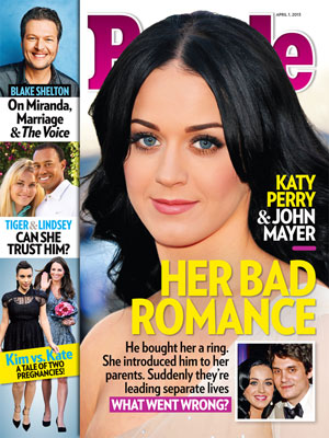 photo | Breakups, Katy Perry Cover, Blake Shelton, John Mayer, Kate Middleton, Katy Perry, Kim Kardashian, Lindsey Vonn, Tiger Woods