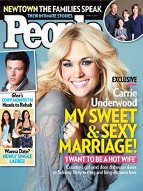 Carrie Underwood: 'I Want to Be a Hot Wife!'