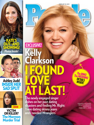  photo | Engagements, American Idol, Reality TV, American Idol, Kelly Clarkson Cover, The British Royals, Ashley Judd, Dario Franchitti, Kate Middleton, Kelly Clarkson