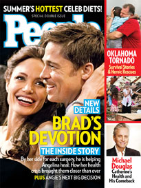 Brad & Angelina: Helping Her Heal