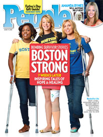 Strength & Courage: Boston Bombing Survivors