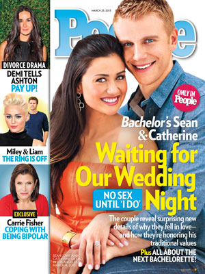 photo | Couples, Reality TV, The Bachelor, Carrie Fisher, Catherine Giudici, Demi Moore, Liam Hemsworth, Miley Cyrus, Sean Lowe