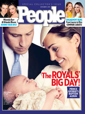 photo | Kate Middleton Cover, Prince William Cover, The British Royals, The Royals, Kate Middleton, Kim Kardashian, Lauren Conrad, Miranda Kerr, Orlando Bloom, Prince George, Prince William