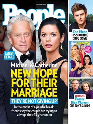 photo | Primetime Emmy Awards 2013, Catherine Zeta-Jones Cover, Michael Douglas Cover, Catherine Zeta-Jones, Michael Douglas, Zac Efron