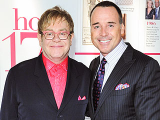 Elton John to Wed Partner David Furnish in May