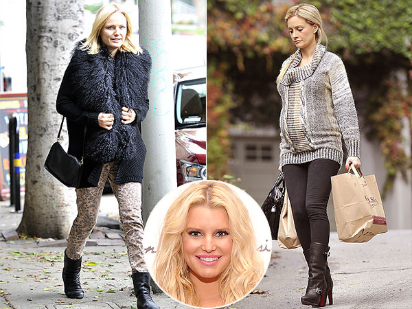 Celeb Moms-to-Be Bump It Up in Jessica Simpson Maternity
