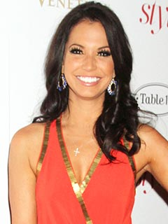 Melissa Rycroft Tricks Her Daughter at the Dinner Table