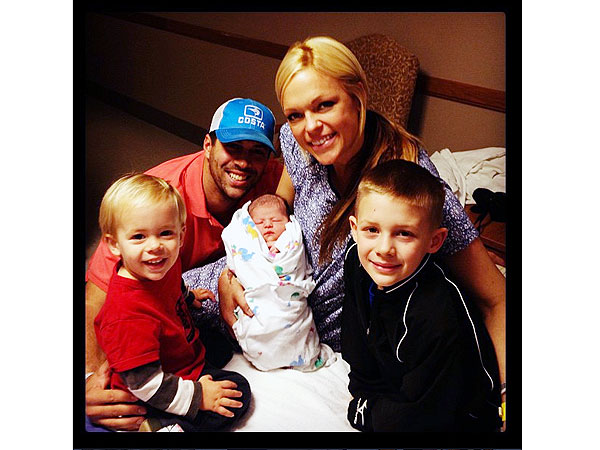 Jennie Finch Welcomes Daughter Paisley Faye