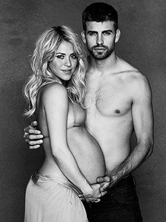 Shakira, Gerard Piqu Welcome Son