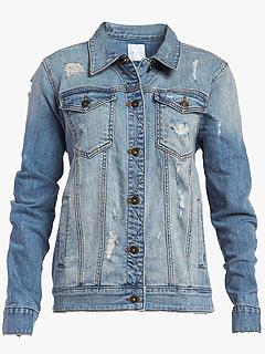 J1 Trend, 3 Ways: Faded Denim Jackets and Vests