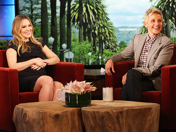 Kristen Bell Meets a Sloth on The Ellen DeGeneres Show
