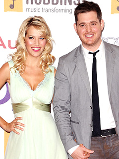 Michael Buble Reese Witherspoon Baby News Break