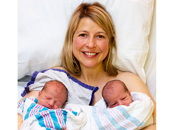 Samantha Brown Welcomes Twins Ellis James and Elizabeth Mae