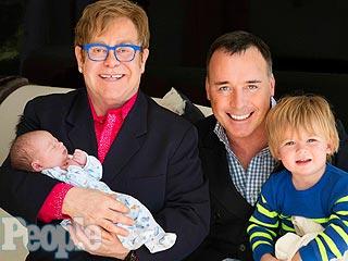 Meet Elton John's Newborn Son Elijah | David Furnish, Elton John