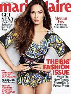 Megan Fox Marie Claire UK