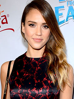 Jessica Alba Escape from Planet Earth Junket