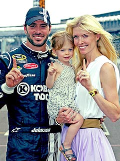 Jimmie Johnson: Daughter Is Taylor Swift Fan